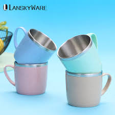 <b>LANSKYWARE</b> Creative Mini <b>Kids</b> Mug 304 Stainless Steel Coffee ...