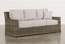 brown wicker outdoor furniture dresses: aventura sofa main image aventura sofa main