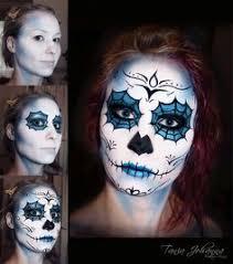 sugar skull day of the dead makeup tania johanna makeup artist model follow me at taniajohannamakeup