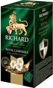 <b>Чай Richard</b> зеленый <b>Royal</b> Camomile с ромашкой 25 пакетиков ...