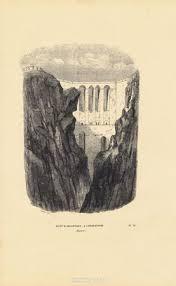 Мост Алькантара в Константине, Алжир. Ксилография. Бельгия ...