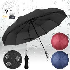 New <b>Fashion</b> 10 Row Ribs Strong Business <b>Umbrella Automatic</b> ...
