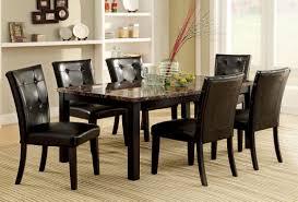 Marble Dining Room Sets Black Marble Dining Set Searscom
