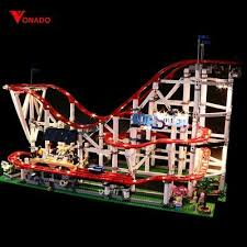 <b>VONADO</b> - <b>LED Light</b> kit for LEGO Creator Expert Roller Coaster ...