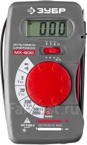 <b>Мультиметр цифровой МХ</b>-<b>600 Зубр</b> - Инструменты и ...