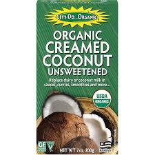 <b>Edward & Sons</b>, Let's Do Organic, Organic Creamed Coconut ...