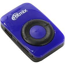 <b>MP3 плеер Ritmix</b> RF-1010 0 Мб Синий — купить в городе ...