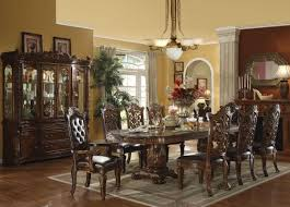 person dining room table foter:  person dining table set  pc ivory leather  person table and