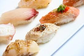 CHEF'S ASSORTED ABURI <b>SUSHI</b> (<b>10 PCS</b>) — Standing <b>Sushi</b> Bar
