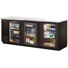 true tbb 4g ld 90 glass door back bar refrigerator with led lighting back bar lighting