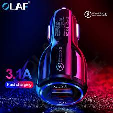 <b>Olaf Car</b> USB <b>Charger</b> Quick <b>Charge</b> 3.0 2.0 Mobile Phone <b>Charger</b> ...