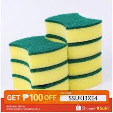 <b>10pcs Dishwashing Sponge</b> Block <b>Magic Sponge</b> waist type ...