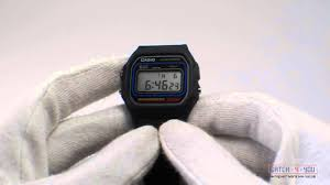 Обзор <b>мужских</b> часов <b>Casio W</b>-<b>59</b>-1VU - YouTube