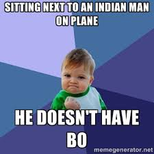 sitting next to an Indian man on plane he doesn't have bo ... via Relatably.com
