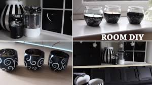 black and white diy room youtube accessoriespretty black white silver bedroom ideas