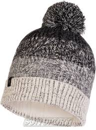Одежда Зима <b>Buff Шапка Buff Knitted&Polar</b> Hat Masha Grey ...