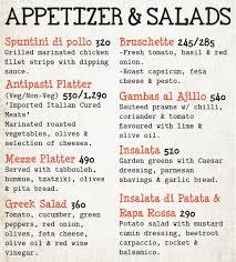 Menu list of <b>Marcopolo</b> Restaurant