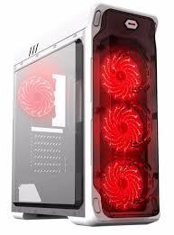 <b>Корпус GameMax StarLight W-Red</b> ATX Без БП купить по низкой ...