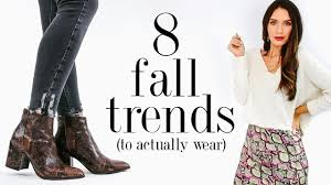 8 <b>Fall</b> FASHION TRENDS To Actually <b>Wear</b> in <b>2019</b>! - YouTube