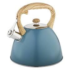 <b>Чайник AGNESS</b>, <b>3 л</b>, синий купить в интернет-магазине Уютерра
