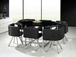 Dining Room Sets 6 Chairs Glass Table Dining Set White Glass Dining Table And Chairs Wood