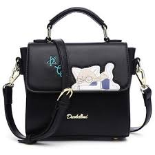 <b>PU Leather</b> Cartoon Patch Handbag | <b>Pu leather</b> bag, Fashion tote ...
