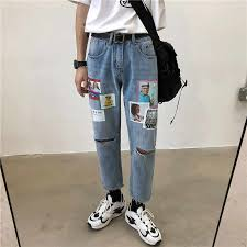 new hot casual hole female jeans tassel denim skirt scratched slim high waist