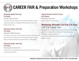 prepare for the fall career fair uat tech official blog of the career fair