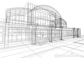 abstract 3d office building royalty free stock photography image 2273547 abstract 3d office building