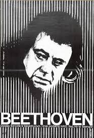 Beethoven - Tage aus einem Leben, Horst Seemann. Polnische Plakatkunst Gorka, Wiktor Beethoven - Tage aus einem Leben, Horst Seemann - 5462_0