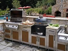 Countertop For Outdoor Kitchen Astounding Modular Outdoor Kitchens Interior Design Feats