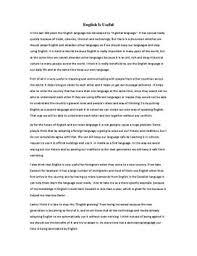 argumentative essay english as a global language  free essays on  argumentative essay english as a global language