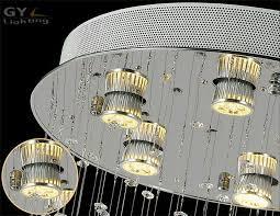 d50h150cm modern circle ceiling base art deco stair lighting restaurant el lights stairs chandelier banner5 stair lighting