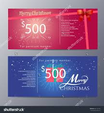 christmas gift voucher template colorful modern style vector christmas gift voucher template colorful modern style vector illustration preview save to a lightbox