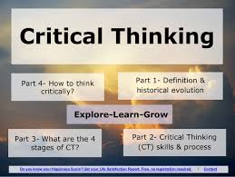 Importance of critical thinking in nursing ppt   writefiction