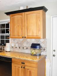kitchen moldings: add molding to flat kitchen cabinet door moulding ideas kitchen
