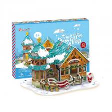 """Отзывы о 3D-пазл <b>Cubic Fun</b> """"<b>Рождественский домик</b> 3"""" (с ..."""