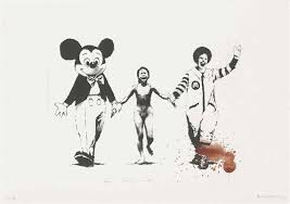 <b>Banksy</b> | Napalm (<b>Can't beat the</b> Feeling), from: In the darkest hour ...
