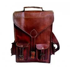 """13"""" <b>Genuine Leather Vintage</b> Laptop Backpack Shoulder ..."""