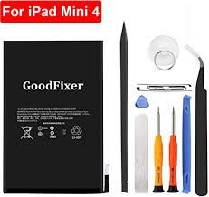 GoodFixer for Apple iPad Mini 4 Battery Replacement with Complete ...