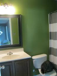 green bathroom screen shot: this was the best shot i could get of this tiny bathroom that gets no natural light will somebody just give me a dslr camera with a wide angle lens