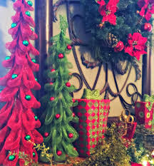 christmas tree tuscan decor tuscany trees