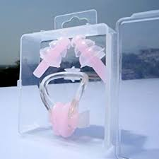 Vorra Fashion Silicone <b>Waterproof</b> Nose Clip <b>earplugs Children's</b> ...