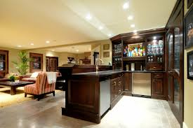 cool basement family room lighting basement bar designs themes basement lighting layout
