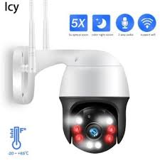 <b>Icy 1080P PTZ IP</b> Camera 5X Zoom Auto Metal Outdoor Wireless ...