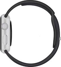 <b>Ремешок для часов Eva</b> для Apple Watch 42mm Черный (AWA001B)