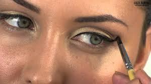 cut crease makeup tutorial for deep set eyes