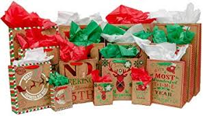 Christmas Gift Bag Variety Pack (60 Pieces) - 15 High ... - Amazon.com