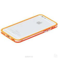 Купить <b>Promate Bump</b>-<b>i6</b> чехол-накладка для iPhone 6, Orange в ...