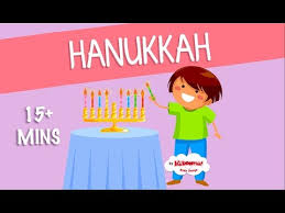 15 Mins Hanukkah Songs for Children | Chanukah | The Kiboomers ...